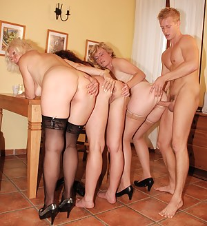Nude Big Ass Foursome Porn Pictures